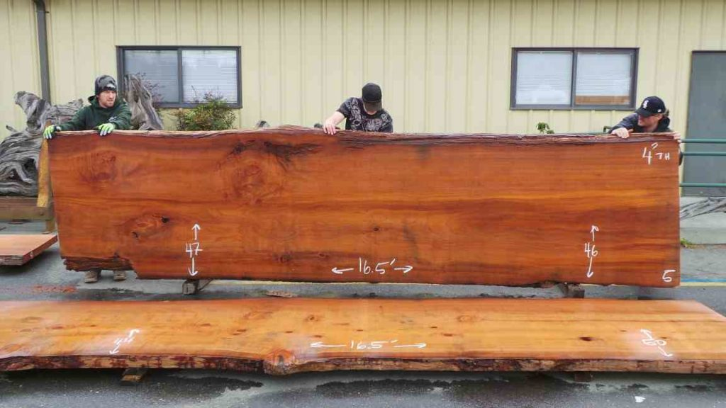 Old Growth Redwood Conference Table