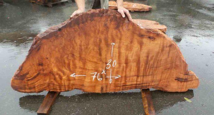 Redwood Burl Slab - Desk Slab