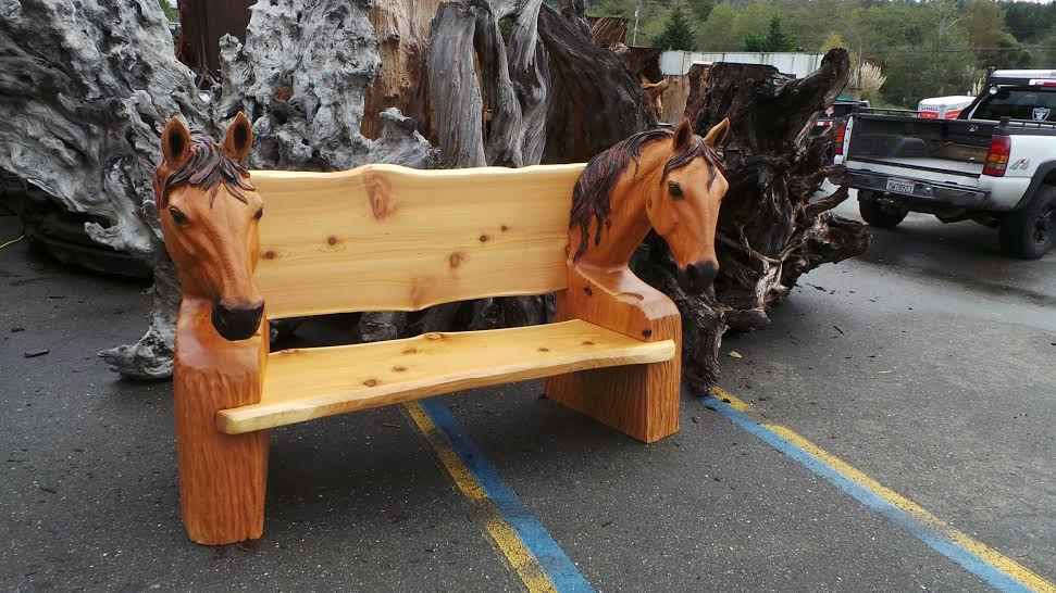 Horse Bench Suitable For Indoors