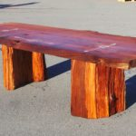 Rustic Redwood Table