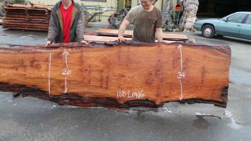 Redwood Bar Top Live Edge Wood Counters Kitchen Vanity Surface