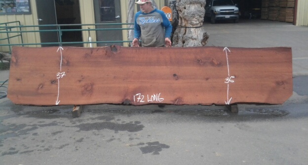 Old Growth Redwood Table or Counter Top