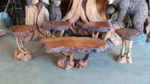 Redwood Burl Slabs For Sale - Ideal for Crafting Rustic Wood Furniture