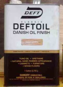 Deft Danish Oil Finish (Clear/Natural)