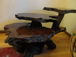 Pricing A Vintage Redwood Burl Table!