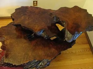 Re Pricing A Vintage Redwood Burl Table