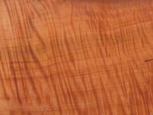 Example of Redwood Curly Grain