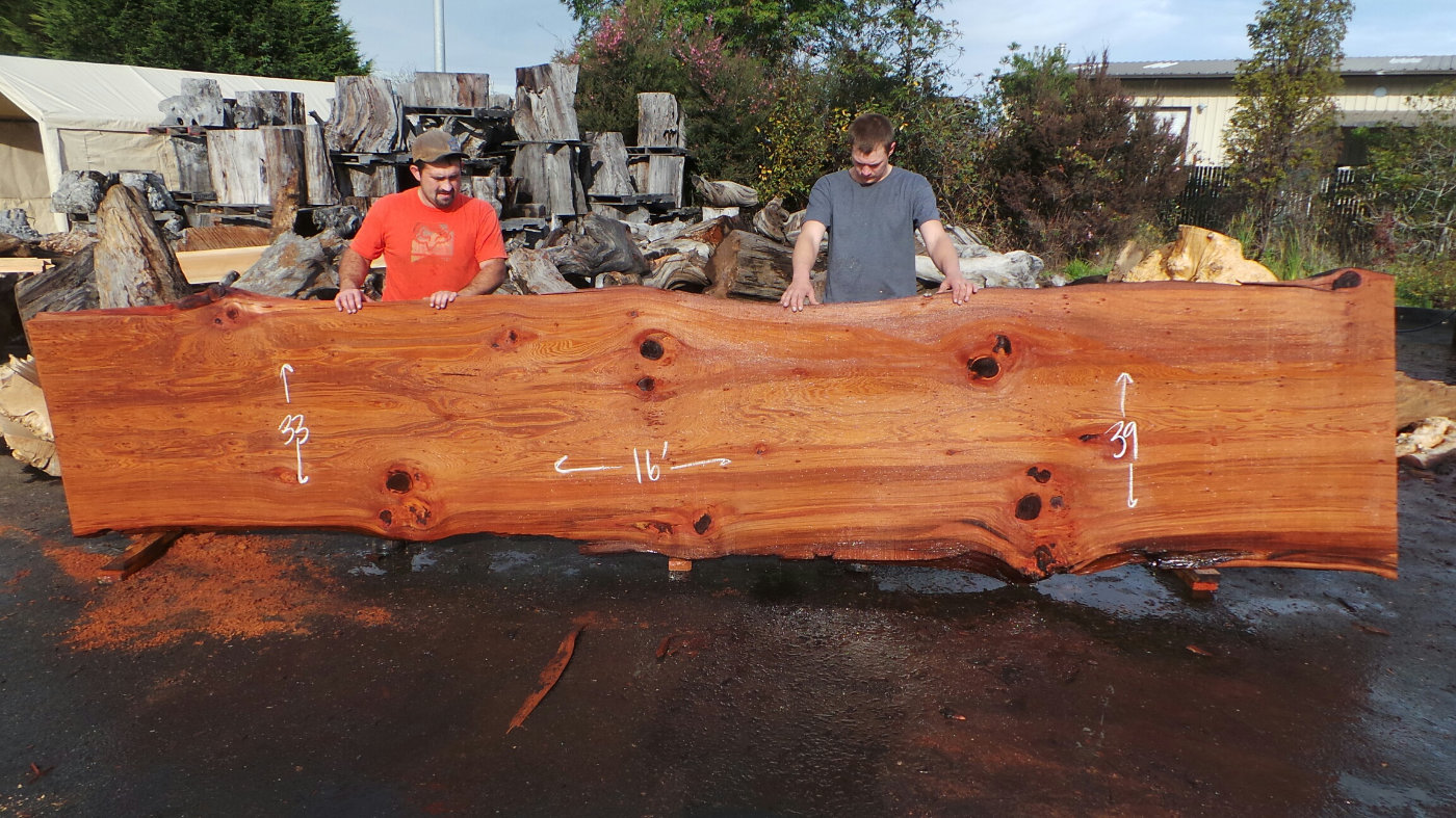 Wood conference table island
