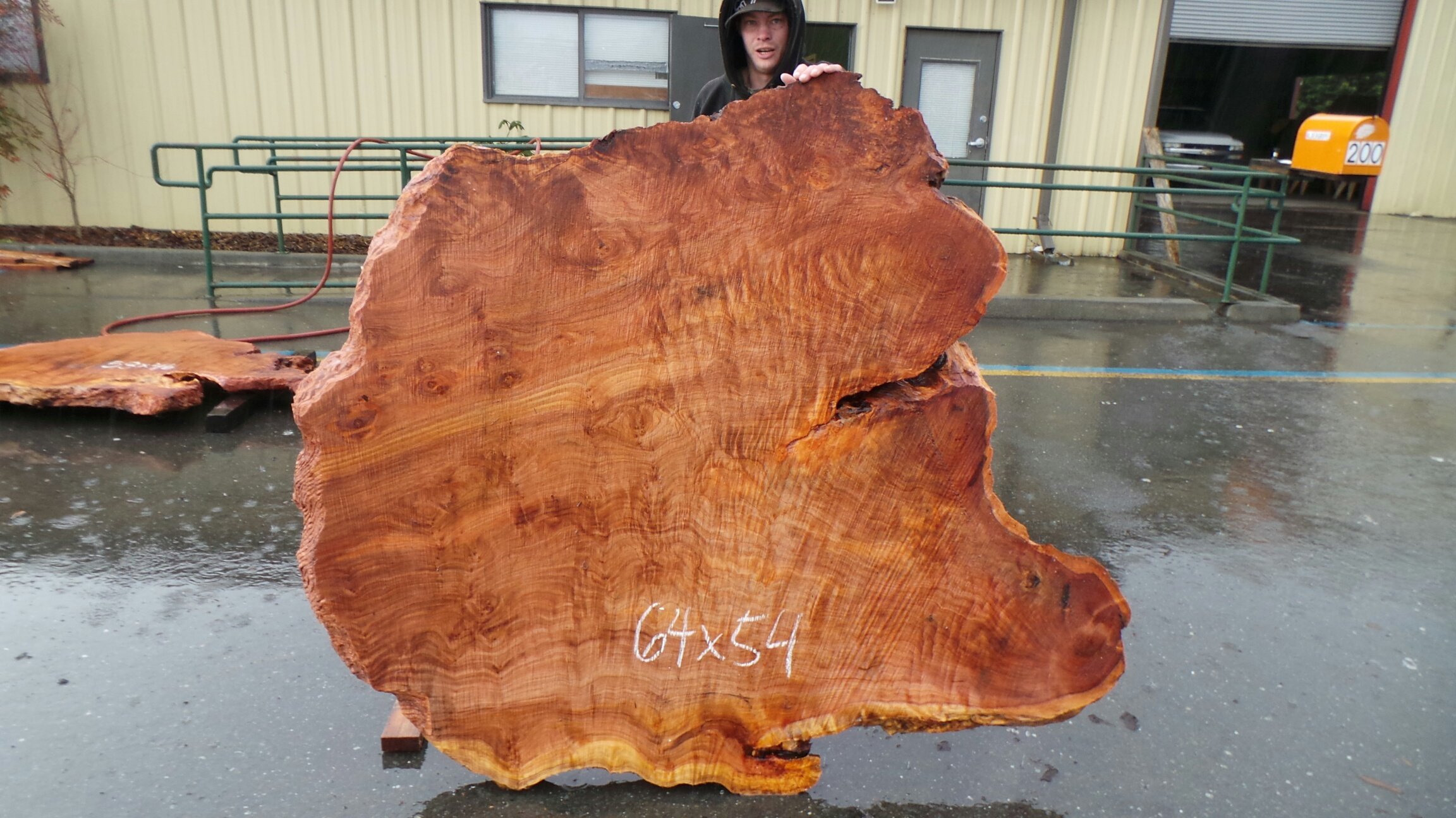 Rough Edge Table - Salvaged Redwood Burl Table