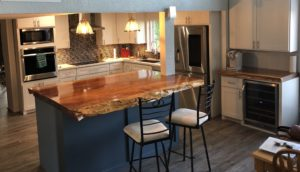 Redwood Rustic Countertops, Bartops and Kitchen Islands